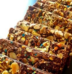 Image de Brownie chocolat cacahuètes & amandes