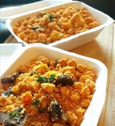 Image de Crumble de légumes au parmesan