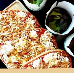 Image de Bruschetta & salade verte