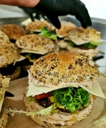 Image de Burger de Boeuf et Pomme de terre au beurre