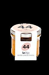 Image de DIP lentilles corail & chorizo  90Gr - Secrets de Famille