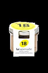 Image de Tapenade d'olives vertes & citron confits & amandes 90Gr - Secrets de Famille